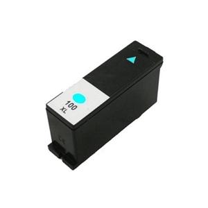 Cartuccia Comp. con Lexmark N. 100XL CIANO Doppia Capacità