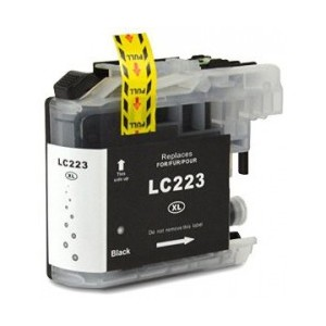 Cartuccia Comp. con BROTHER LC223 BK New Chip