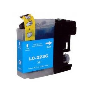 Cartuccia Comp. con BROTHER LC223 Ciano New Chip