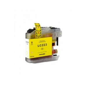 Cartuccia Comp. con BROTHER LC223 Yellow