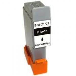 CARTUCCIA CANON BCI 21/24 BK COMPATIBILE