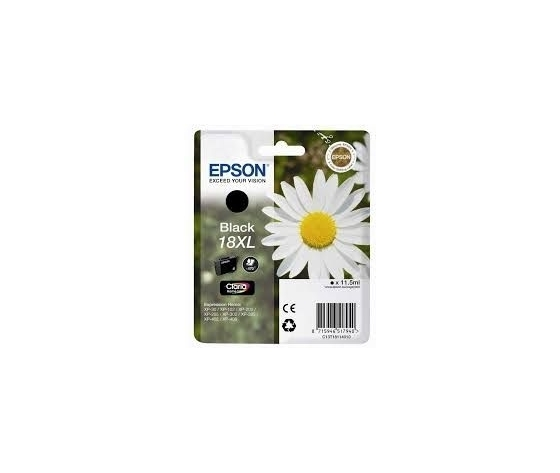 CARTUCCIA COMPATIBILE EPSON T18 XL BK