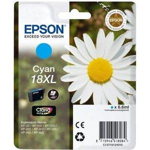 CARTUCCIA COMPATIBILE EPSON T18 XL CYAN