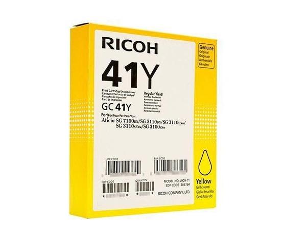 CARTUCCIA COMPATIBILE RICOH GC-41 YELLOW