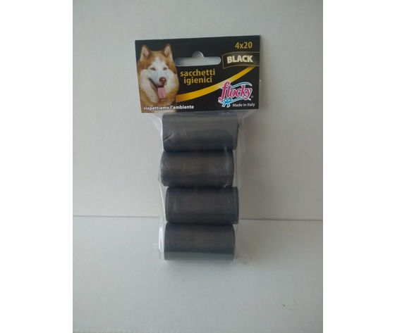 Flocky Sacchetti Igienici Cani Foro Strappo 20X4 Rotoli