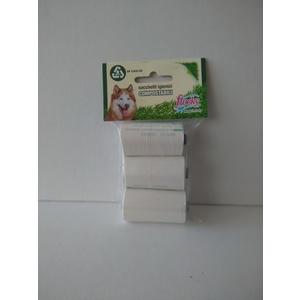 Flocky Sacchetti Igienici Cani Biodegradabili Foro Strappo 15X3 Rotoli