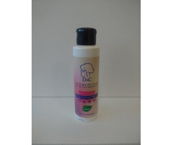 D&C Shampoo Antiparassitario flacone 100ml