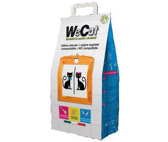 WeCat Lettiera Naturale Vegetale 4,5kg