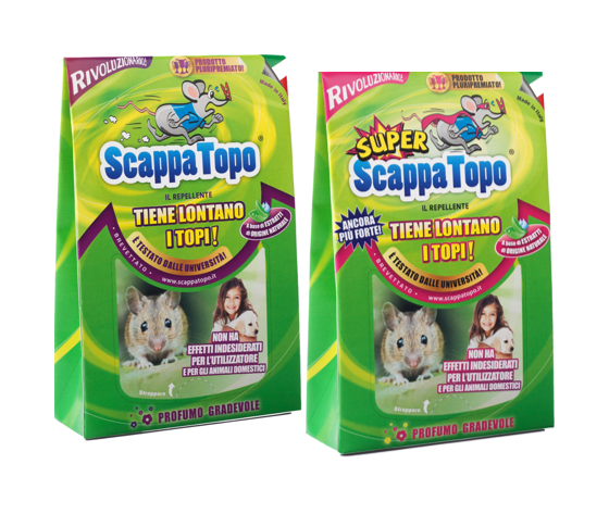 Scappatopo 2pz + Super 2pz