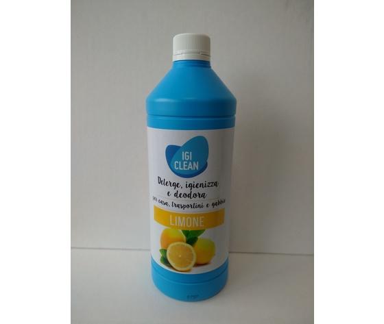 IgiClean Detergente/Igienizzante Limone 1lt