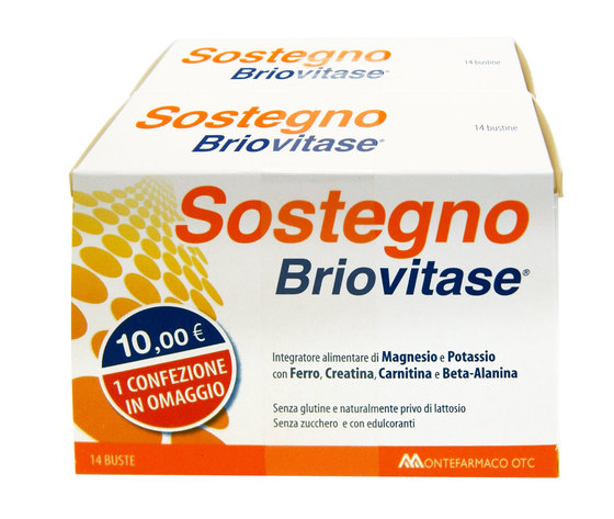 Sostegno Briovitase Magnesio Potassio