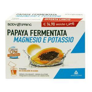 Bodyspring Papaya fermentata magnesio e potassio