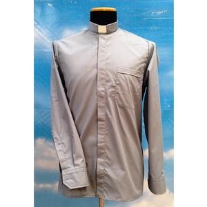 Camicia clergy grigio chiaro 10ML