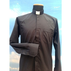 Camicia Clergy nera 2ML