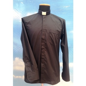 Camicia clergy nera 9ML