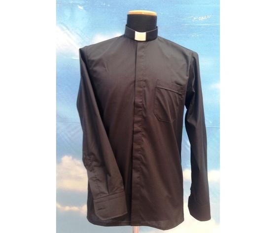 Camicia clergy nera 9ML