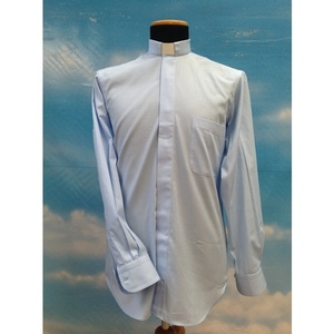 Camicia clergy azzurro 15ML