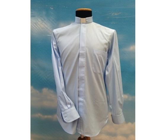 Camicia clergy azzurro 15ML