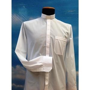 Camicia clergy  bianca 1ML