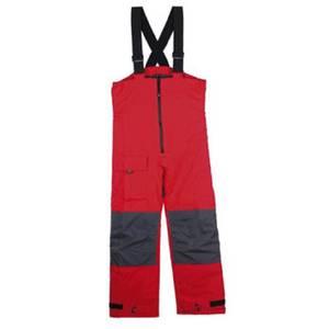 XM SALOPETTE TROUSERS OFFSHORE T 5000 RED UOMO