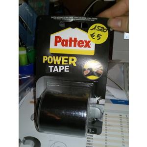 NASTRO ADESIVO NERO EXTRA FORTE 5M POWER TAPE PATTEX