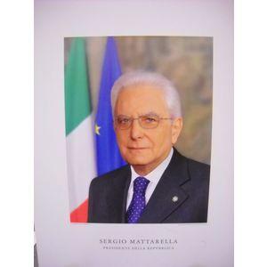 Fotografia Presidende della Rep. Italiana