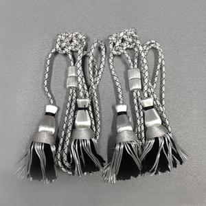 Cordoniera argento-nera