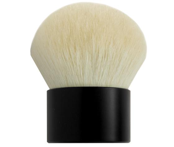 pennello polvere kabuki bianco
