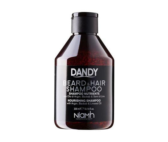Shampoo nutriente barba e capelli