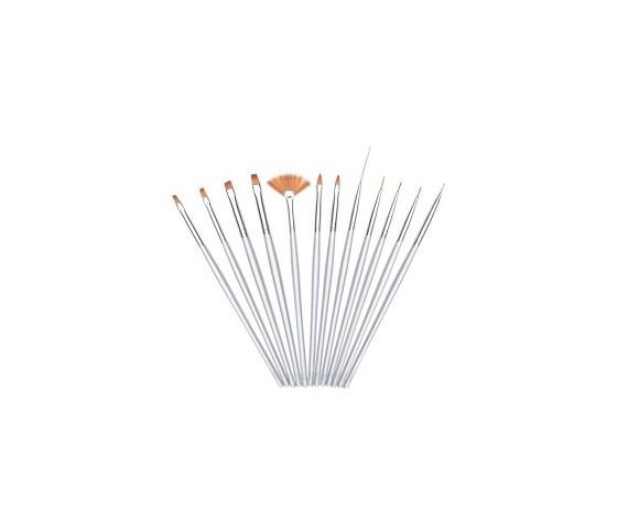 Estrosa Kit 12 Pennelli Gel e Nail Art