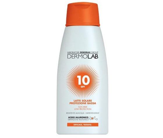 Dermolab Latte Solare Protezione Bassa 10 SPF