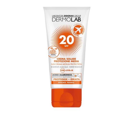 Dermolab Crema Solare Protezione Media 20 SPF