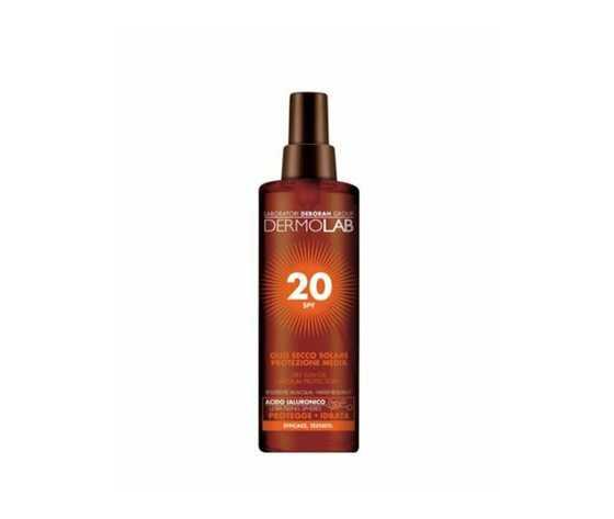 Dermolab Olio Secco Solare Protezione Media 20 SPF