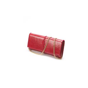 Pochette Piccola Pitone Rosso