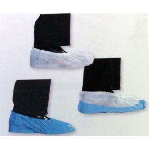 COPRISCARPE IN PPL BIANCO 18 cm. Confezione da 100